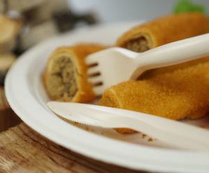 talerze i sztućce biodegradowalne